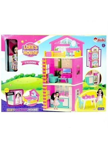 Dede Lola'Nın 3 Katlı Ev Seti Kız Çocuk Oyuncak Renkli